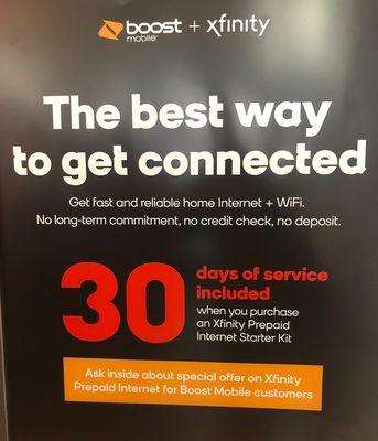 Boost mobile by push wireless 190 Salem St #A Malden, MA