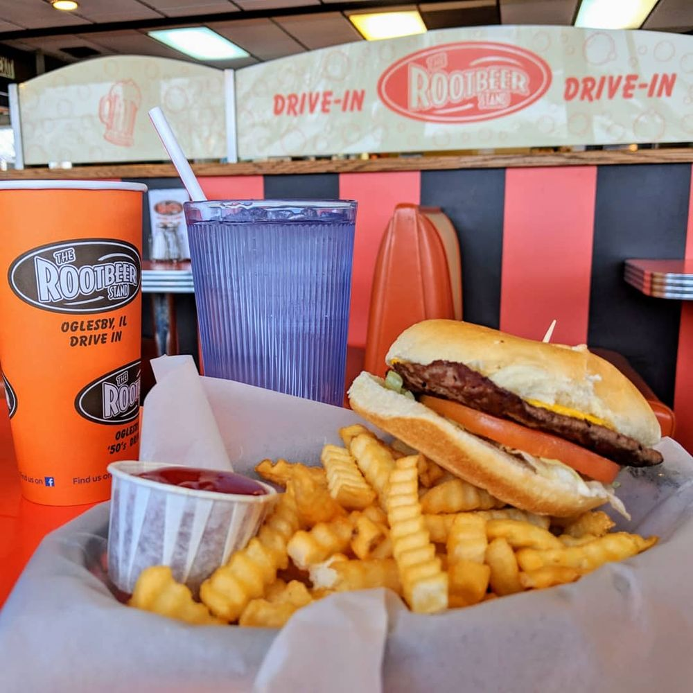 The Rootbeer Stand: 225 N Columbia Ave, Oglesby, IL