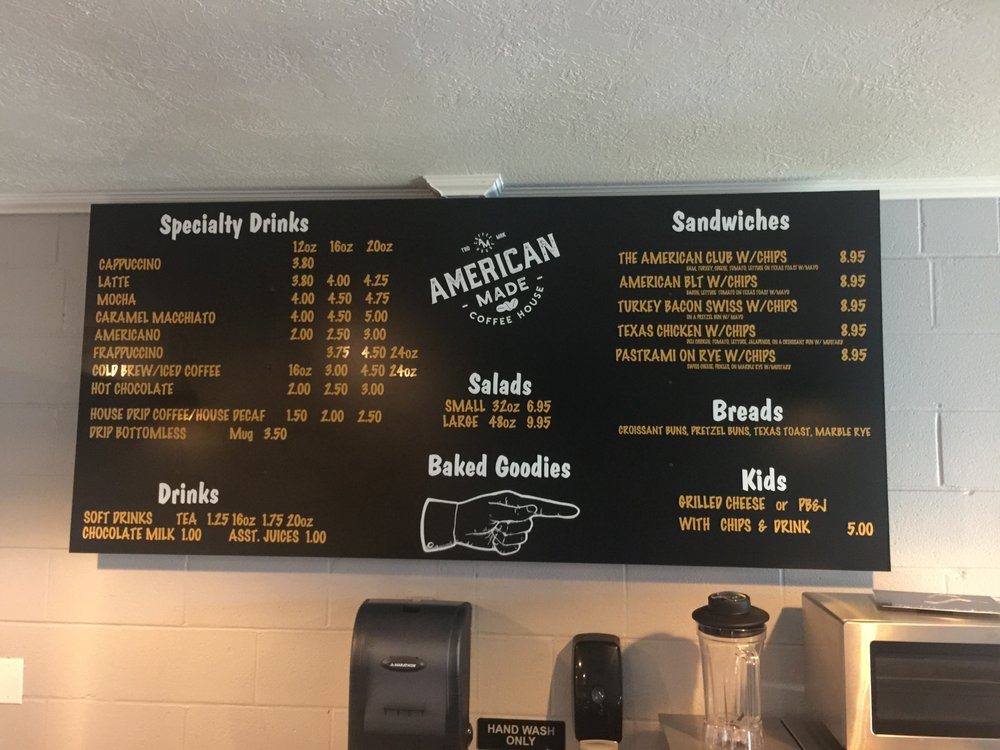 American Made Coffee House: 6402 River Rd, Amarillo, TX