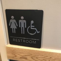 Photo Of Starbucks   Owatonna, MN, United States. Both Bathrooms Are  Accessible With