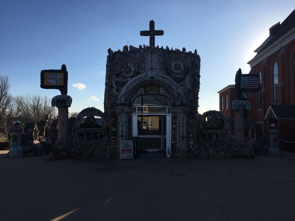 Dickeyville Grotto & Gift Shop: 305 W Main St, Dickeyville, WI
