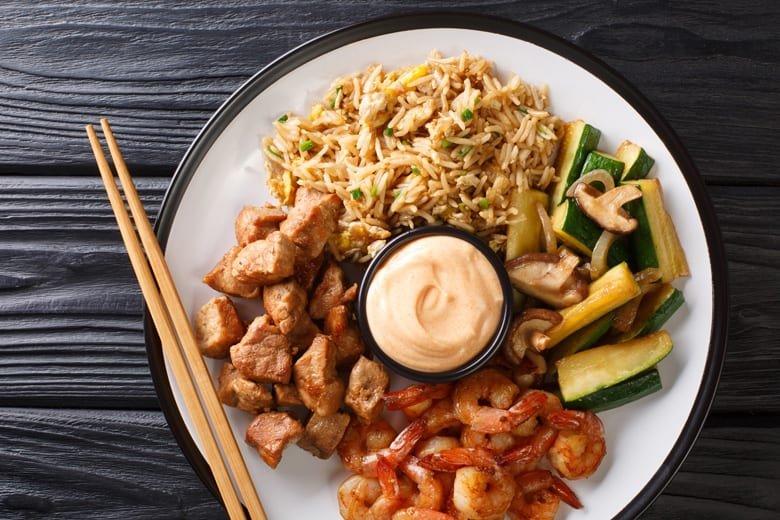 Food from Kintaro Sushi & Hot Pot