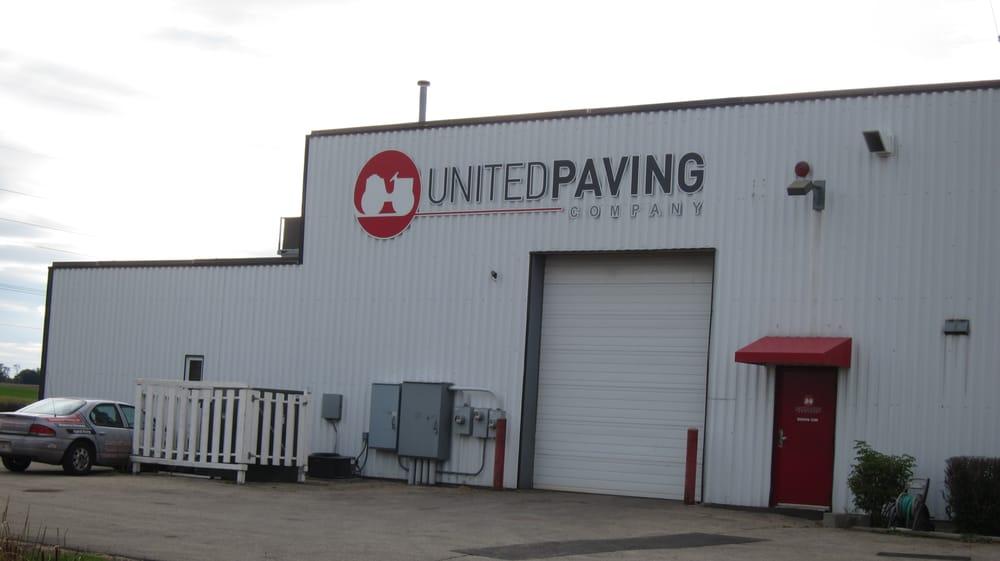 United Paving: 7203 Gene St, Deforest, WI
