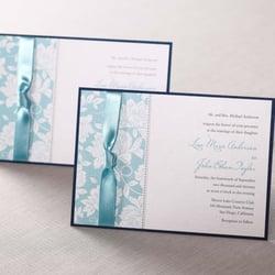 Photo Of B Wedding Invitations   Torrance, CA, United States. Romantic  Vintage Floral
