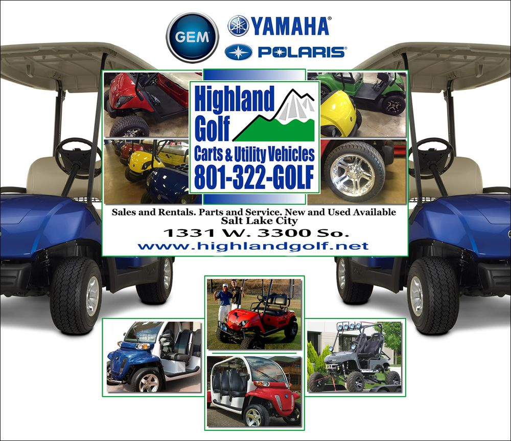 Highland Golf Carts: 1331 W 3300th S, West Valley City, UT
