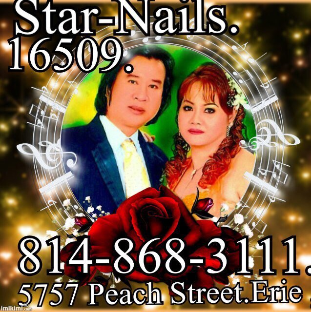 Photo of Star Nails - Erie, PA, United States. Happy Holidays.