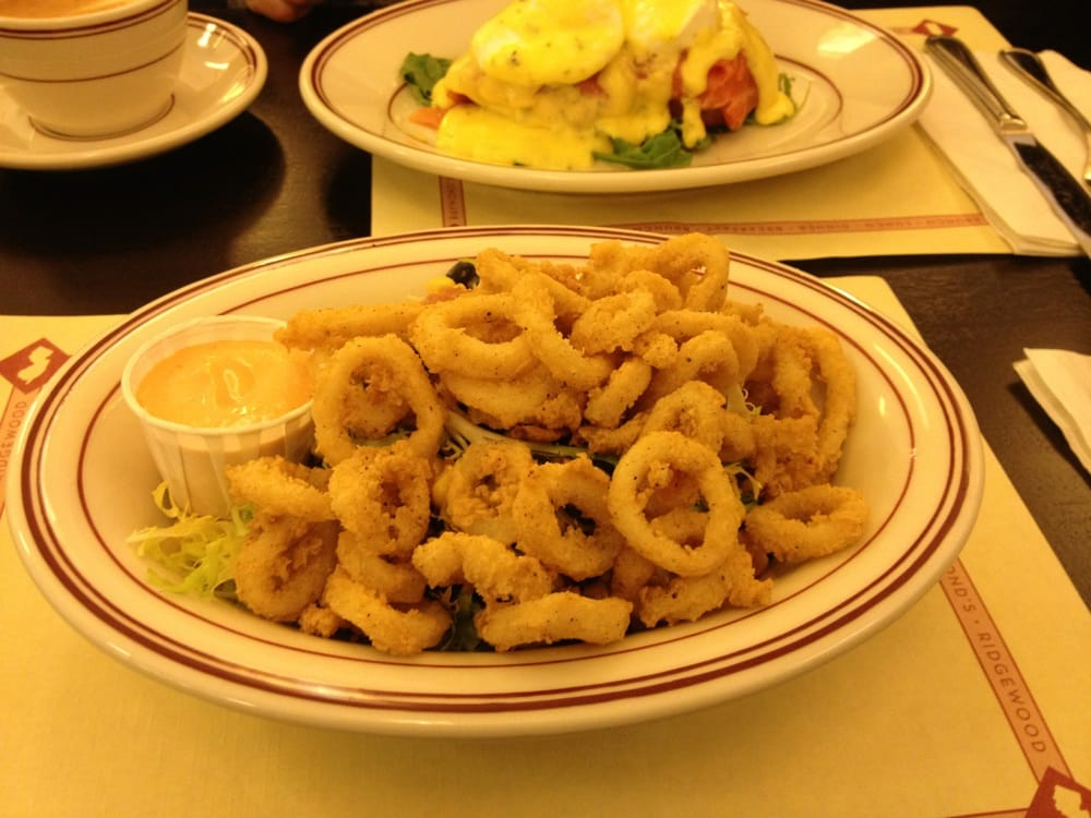 Best crispy calamari salad ever!! - Yelp
