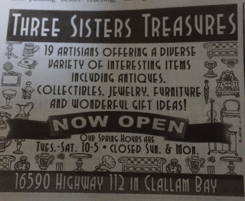 Photo of Three Sisters Treasures: Clallam Bay, WA