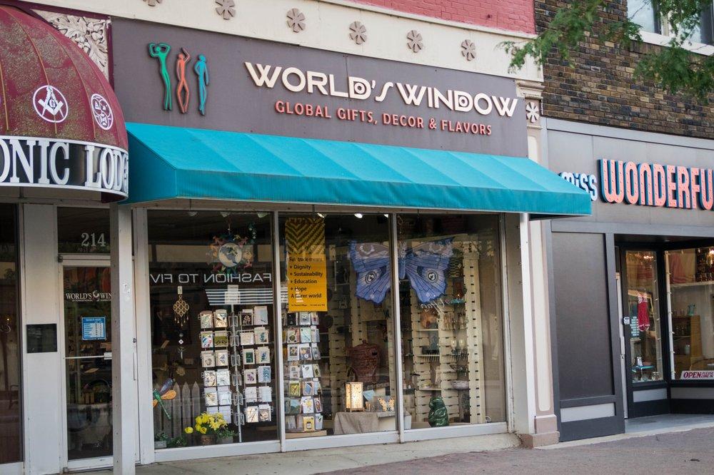 World's Window: 214 Main St, Cedar Falls, IA