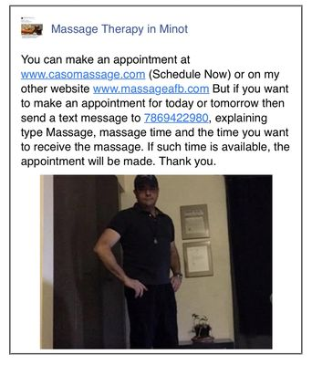 Andy Caso 1617 1st St Se Minot Nd Massage Therapists Mapquest