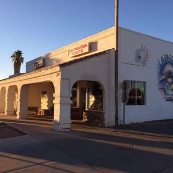 La Paloma Cafe Blythe Ca