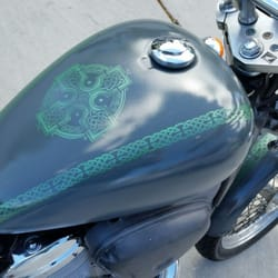 Flames Custom Motorcycle Paint - CLOSED - 19 Photos - Body