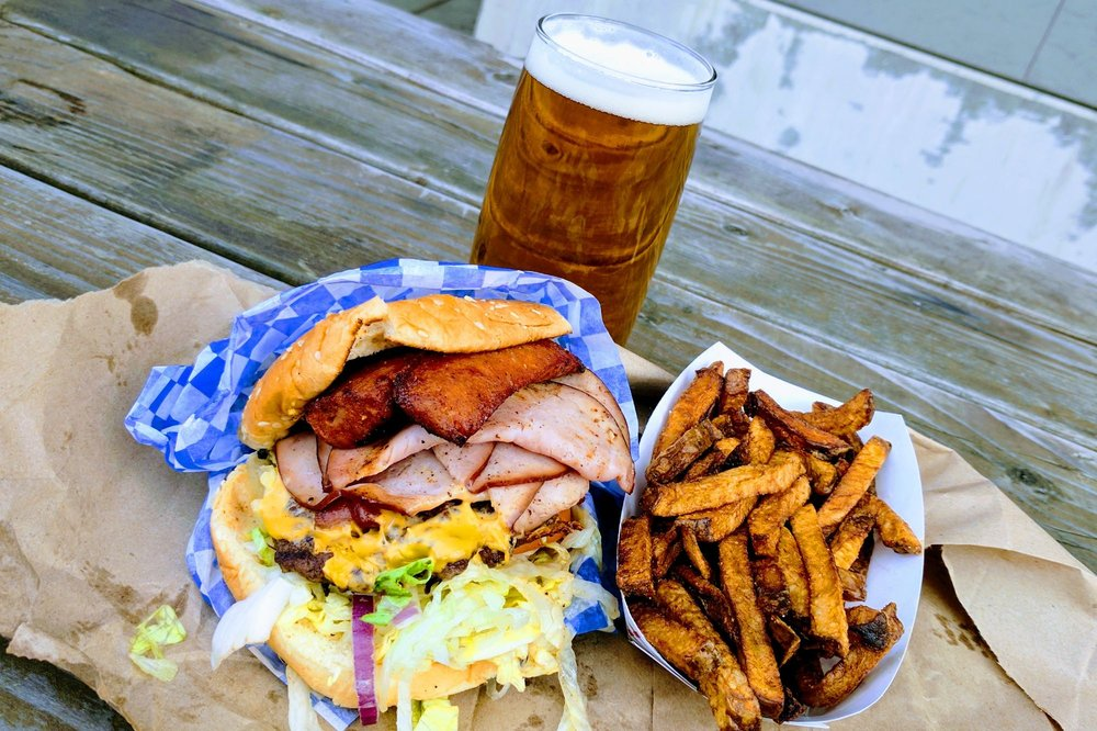 Stoopid Burger: 2329 NE Glisan St, Portland, OR