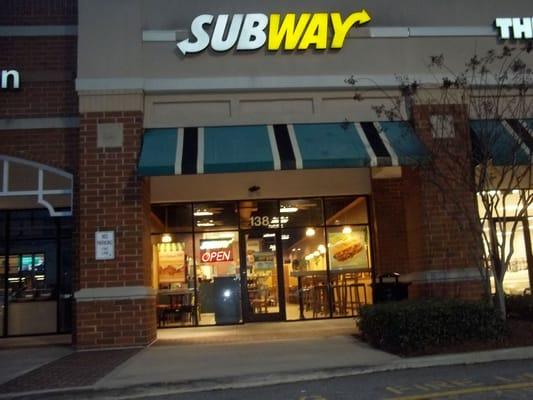 Subway Sandwiches 138 Shenstone Ln Garner Nc Restaurant