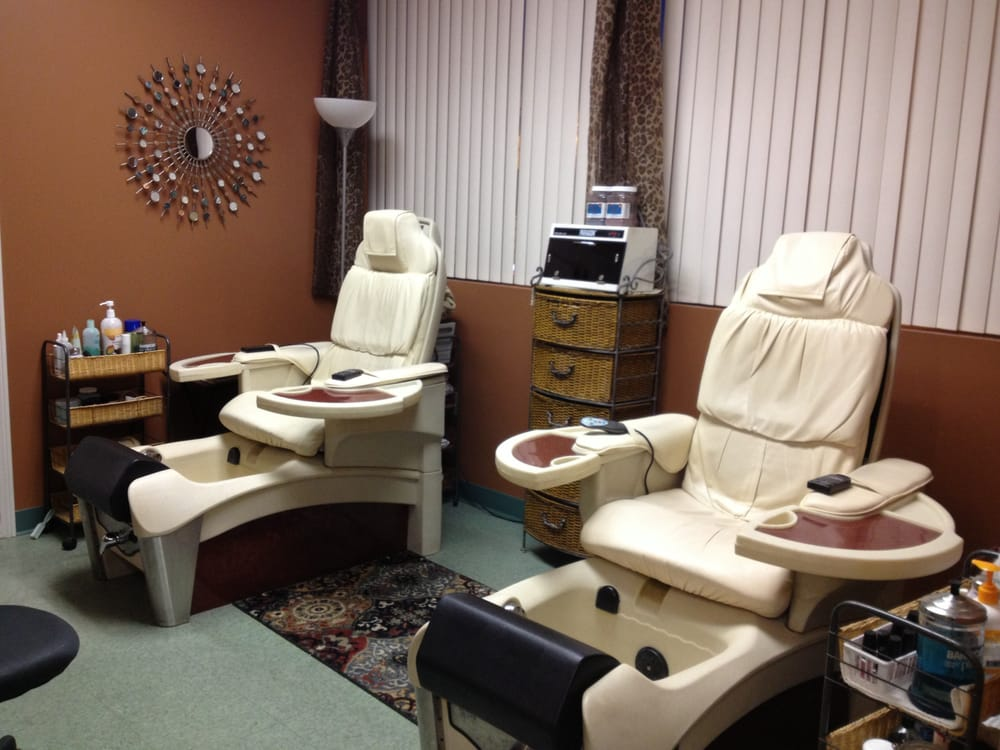 2 pedicure spa chairs yelp for Salon spa 2