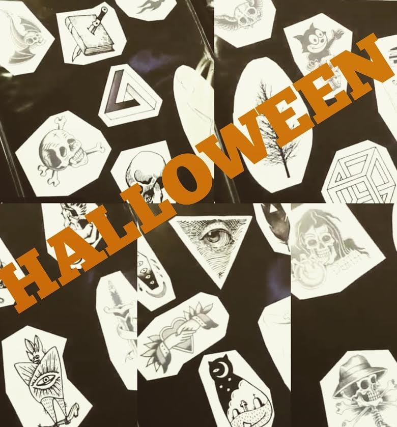 Halloween Tattoo, Halloween Special, $31 Tattoo, Tattoo Flash ...
