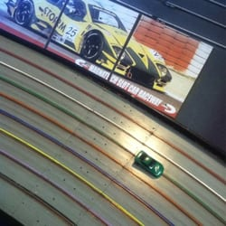 Magnatech Slot Car Raceway logo