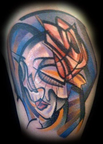 Rockin some cubism by aaron grace yelp for Cat tattoo addison
