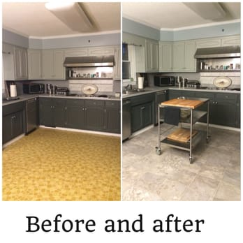 Photo Of Elite Flooring   Winterville, NC, United States. Before And After  Of