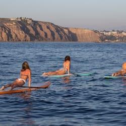 Photo Of Sunset Stand Up Paddle Laguna Beach Ca United States