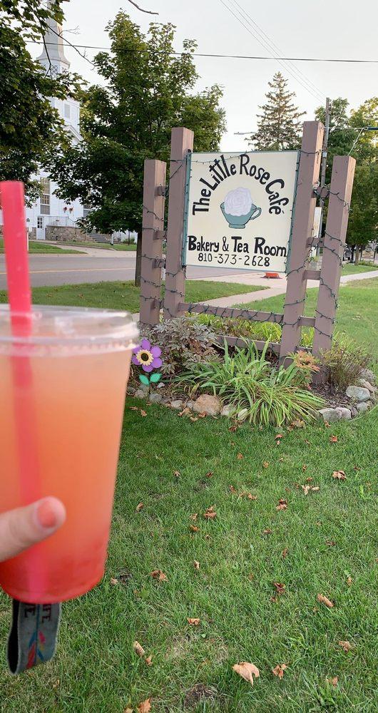 The Little Rose Cafe And Tea Room: 116 W Broad St, Linden, MI