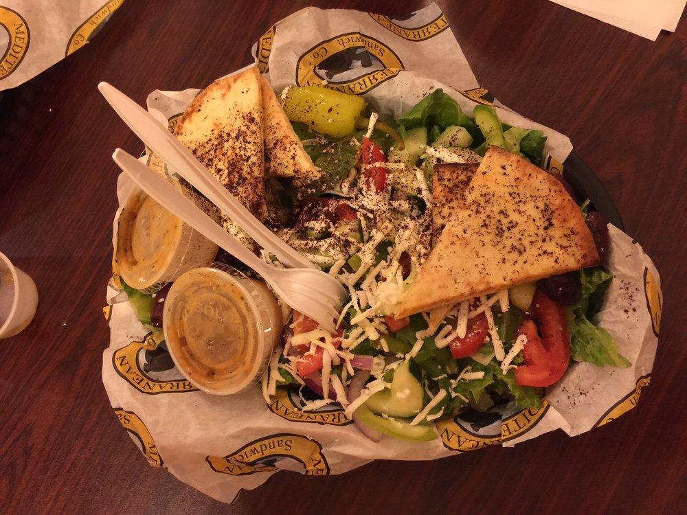 Food from Mediterranean Sandwich