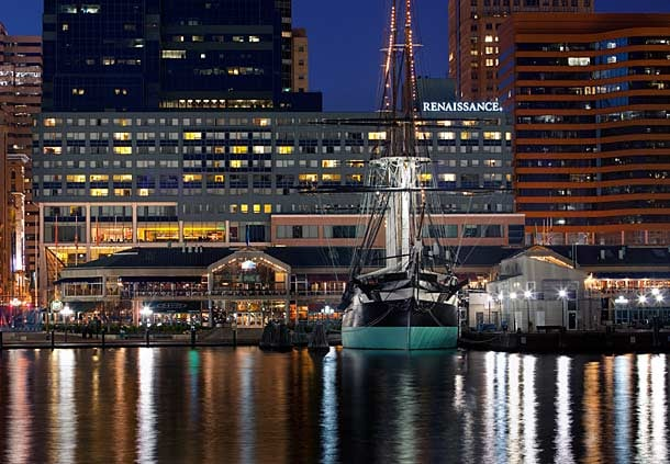 Baltimore Harbor Webcam