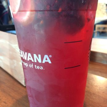 Very Berry Hibiscus Starbucks Refresher With Extra Blackberries And