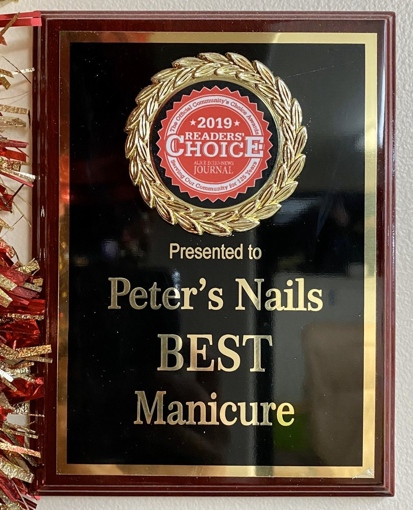 Peter's Nails: 1801 E Main St, Alice, TX