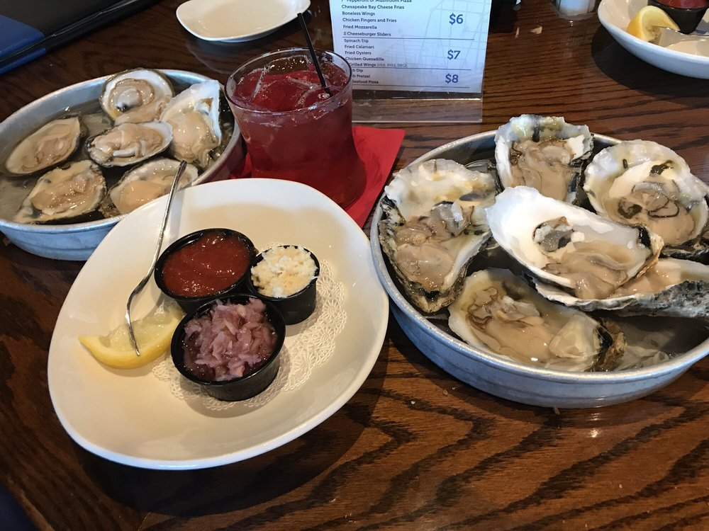 $1 oysters!!! Happy hour - Yelp
