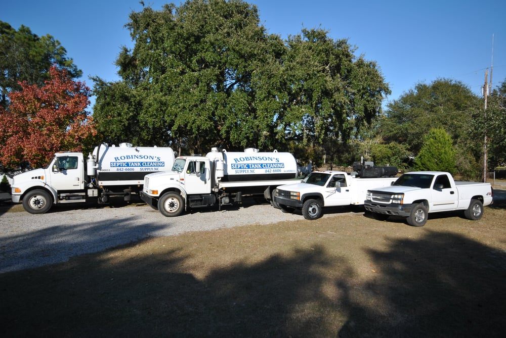 Robinson Septic Tank Cleaning - Septic Services - Supply, NC