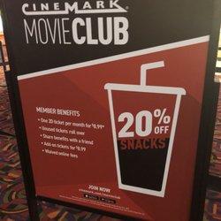 Cinemark Gift Options - Cinemark Movie Club