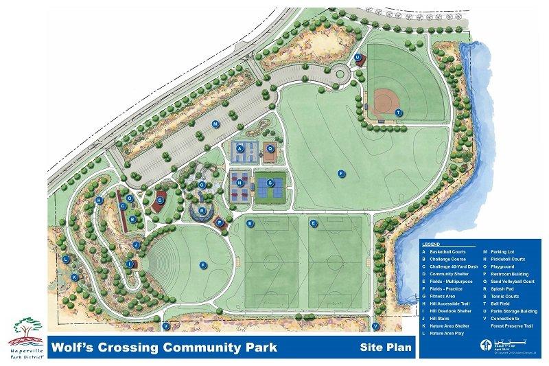 Wolf's Crossing Community Park: 3252 Wolfs Crossing Rd, Oswego, IL