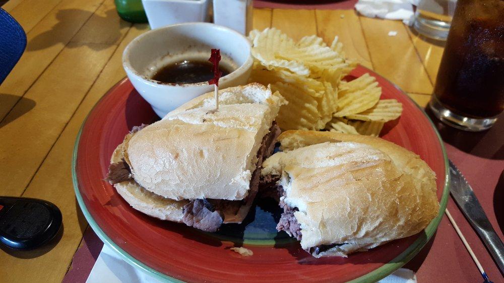 Food from Niko's Sandwich Board
