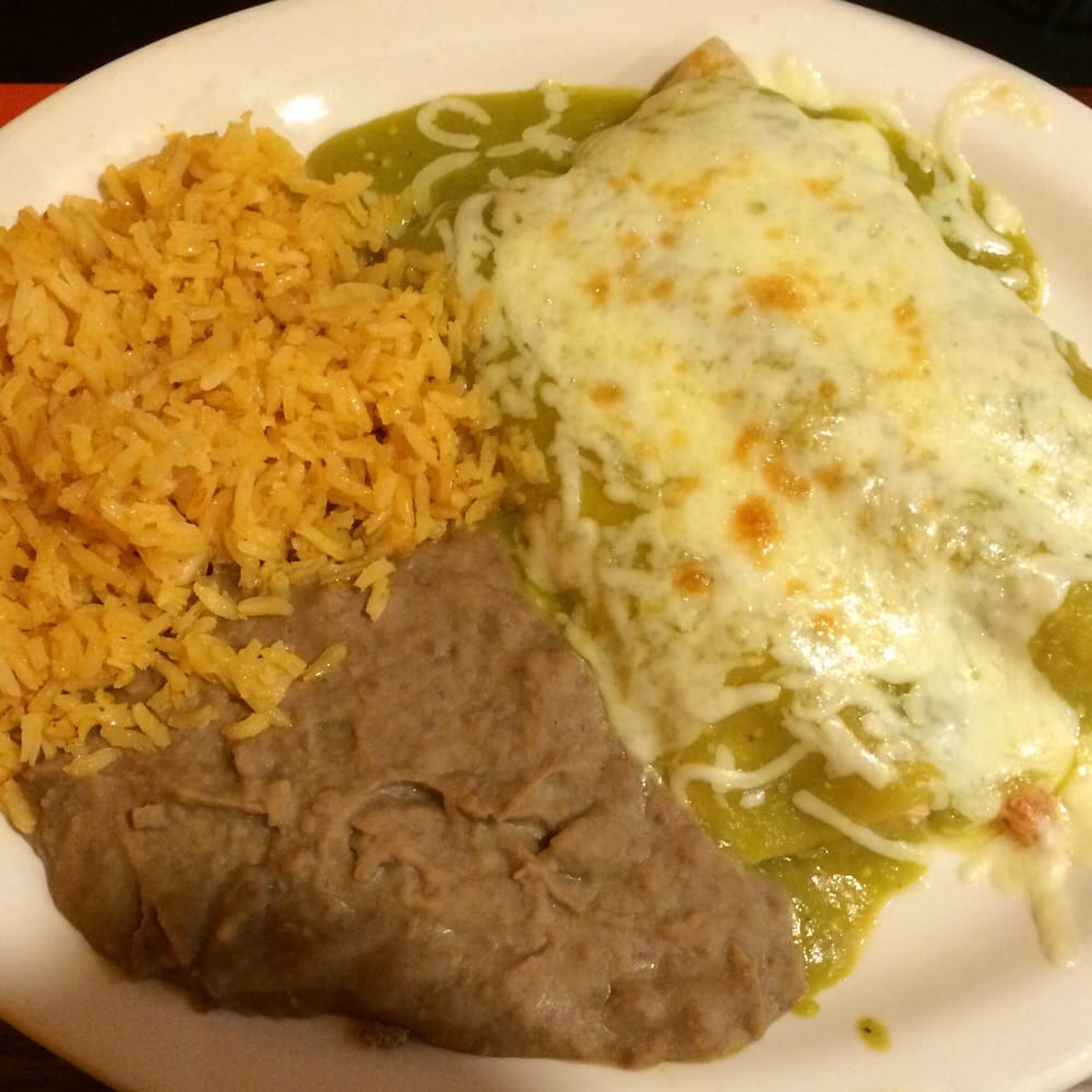 Enchiladas With Rice And Beans Green chicken enchilad...