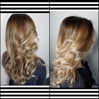 Root Touch Up 64 Toner 15 And Balayage Haircut