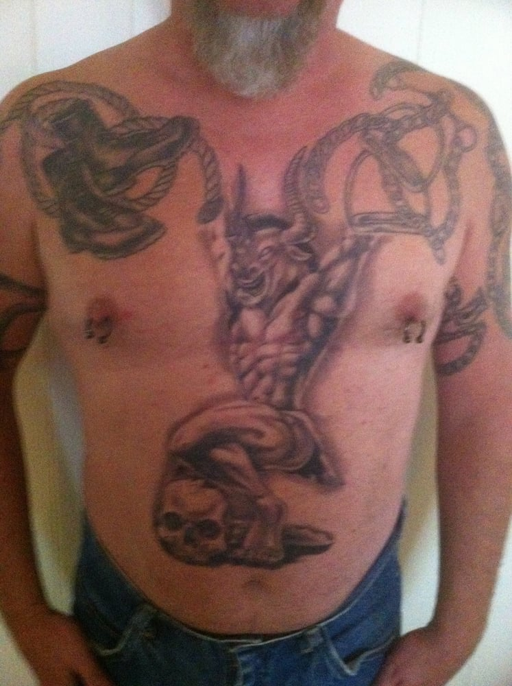 Chest Tattoo Done By Ryan