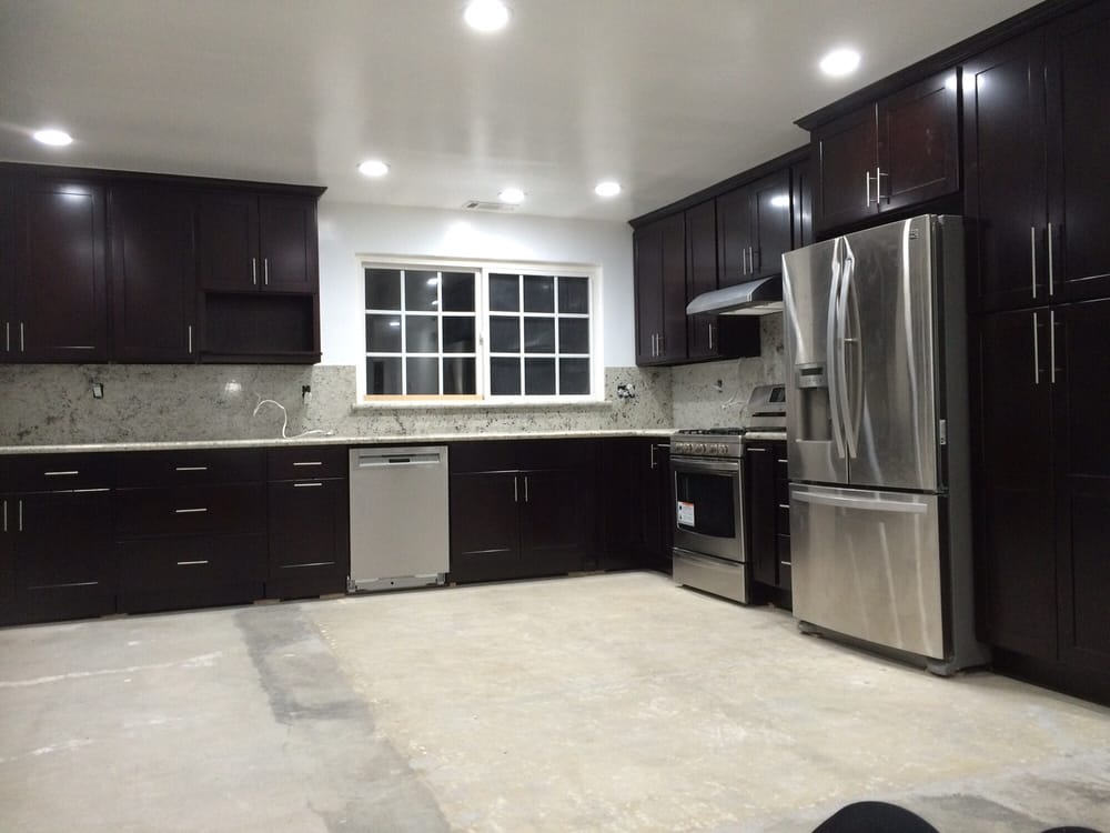Kitchen Cabinet And Granite Install Yelp