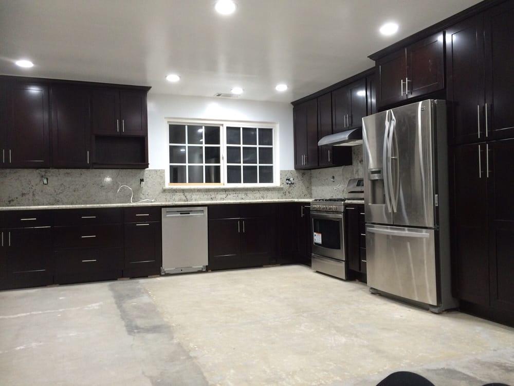 Kitchen cabinet and granite install. - Yelp