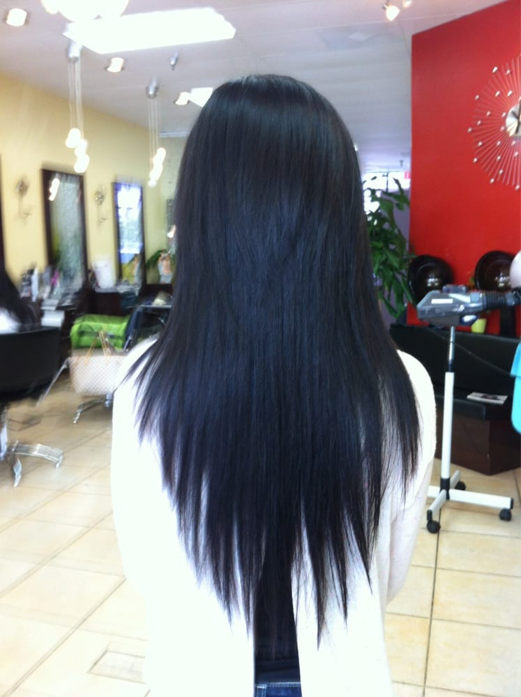 V Shape Layer Cut By Cindy Yelp
