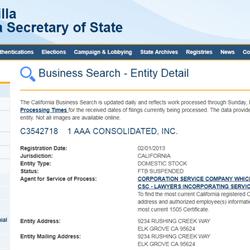 1 AAA Consolidated - Contractors - 5216 Burberry Ct, Elk