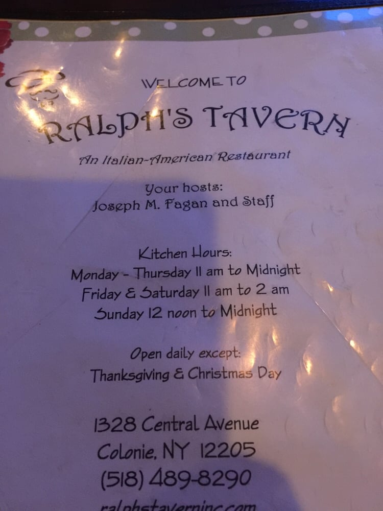 Photos for Ralph's Tavern - Yelp