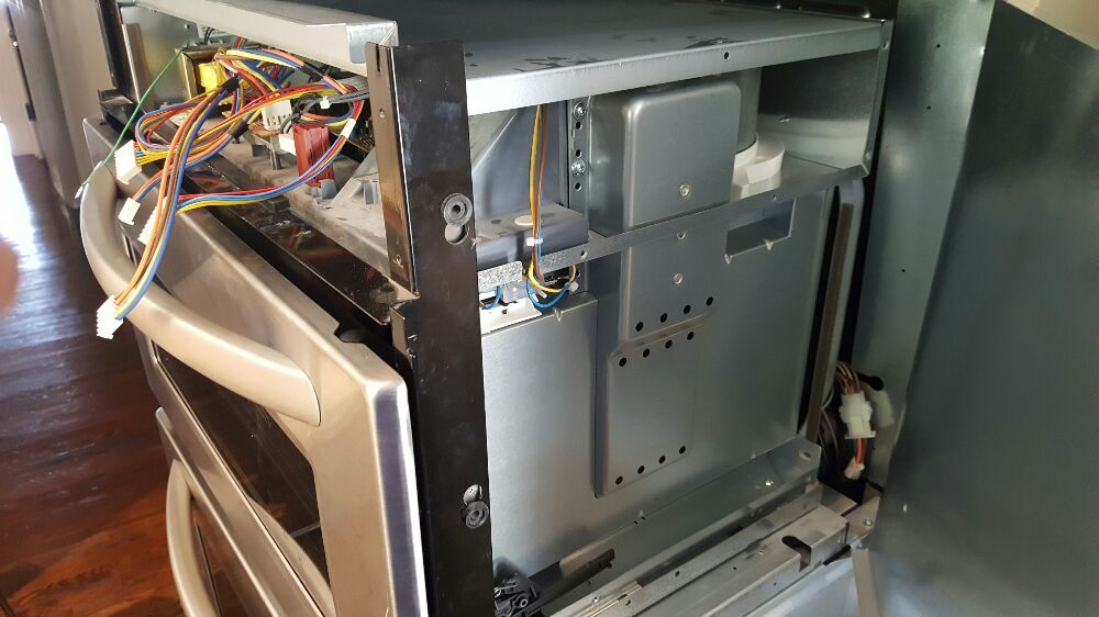 Kitchenaid Wall Oven With Microwave Combo Repair Or