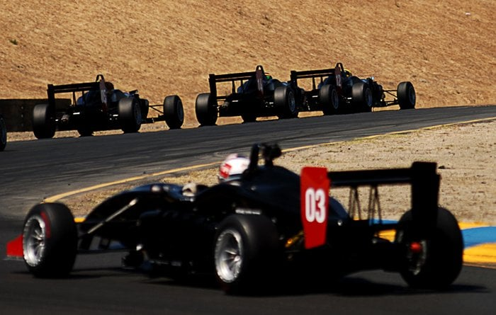 on the track at infineon raceway with the new jim russell. Black Bedroom Furniture Sets. Home Design Ideas