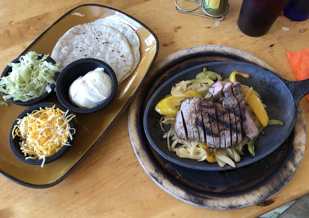Food from Cactus Grill & Cantina