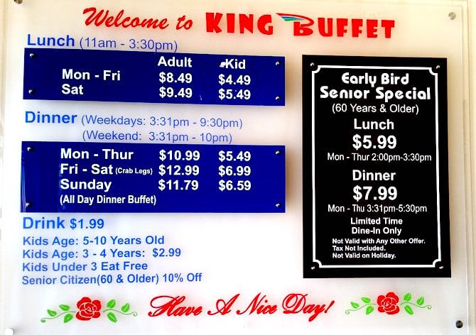 buffet prices yelp rh yelp com buffet king prices abilene tx buffet king prices nz