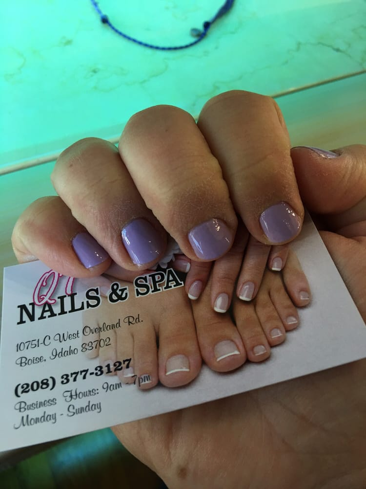 Qt nail spa nail salons 10751 w overland rd boise for A q nail salon