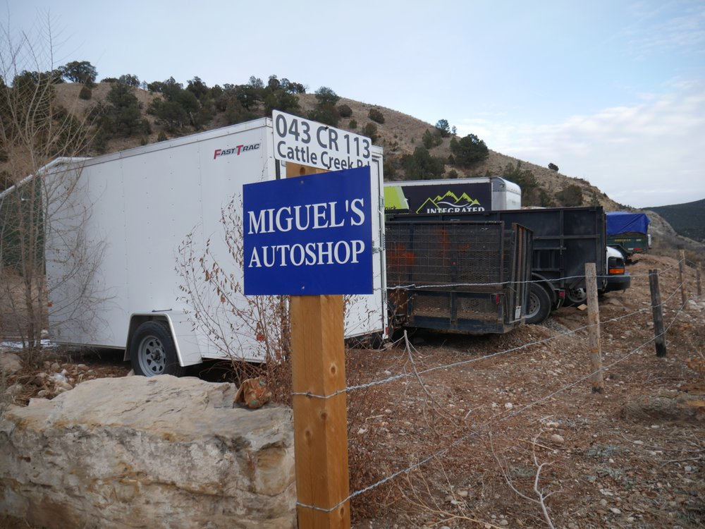 Miguel's Auto Shop: 250 Coryell Rd, Glenwood Springs, CO