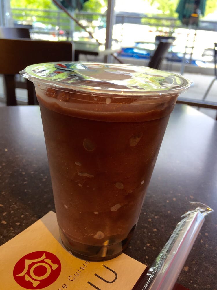 Chocolate smoothie w boba yelp for 101 taiwanese cuisine reno