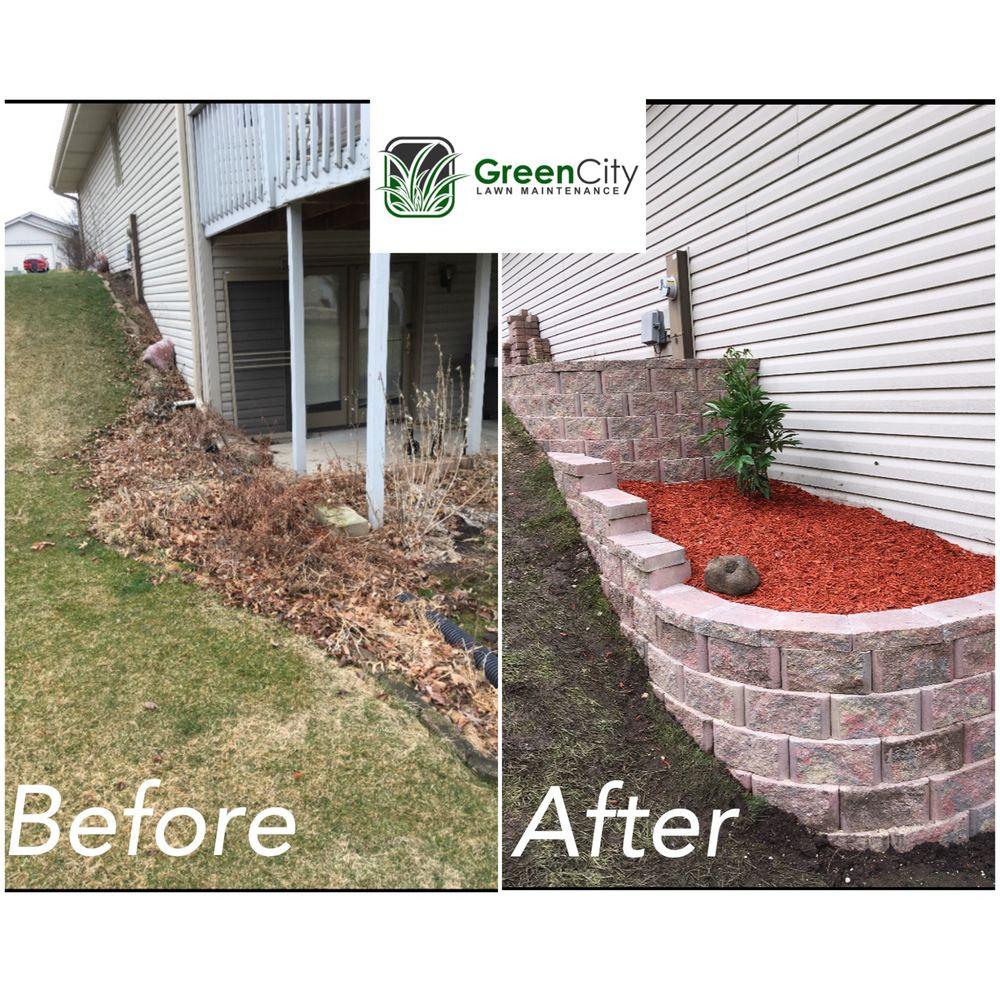 GreenCity Lawn Maintenance: 1708 14th Ave, Belvidere, IL